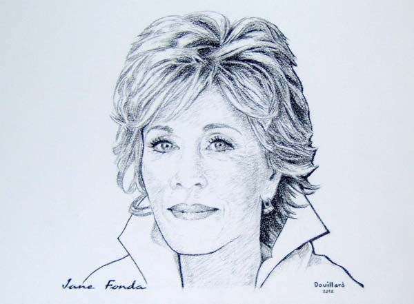 Jane Fonda by Douillard